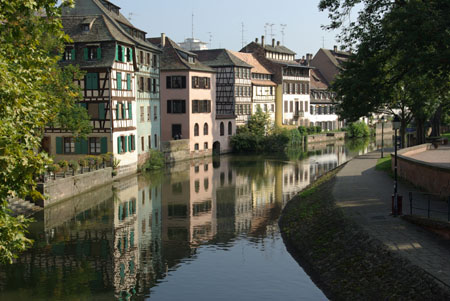 Petit-France in Strassburg