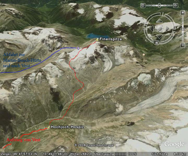 Google-Earth: Fineilspitze